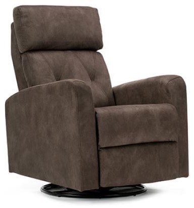 Jeff Power Glider Recliner with Swivel at Bennett's Furniture and Mattresses