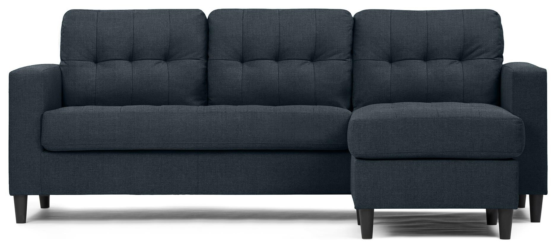 Tyler Sofa with Floating Ottoman at Bennett's Furniture and Mattresses