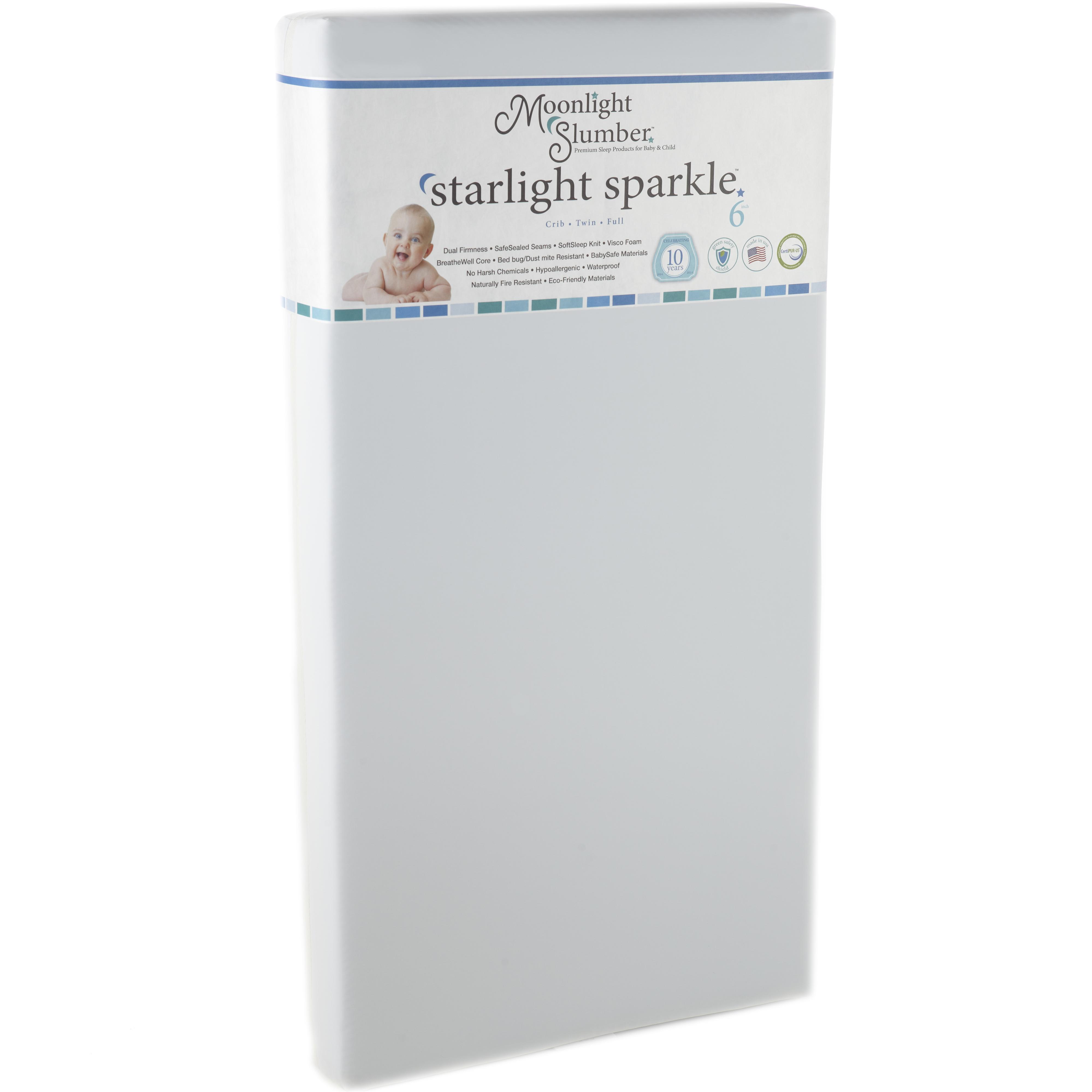 Sparkle Crib All Foam Mattress