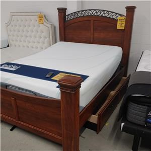 Last One! Queen Bed with Storage!