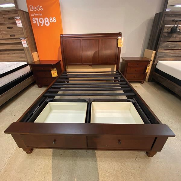 Last One Bed Last One! Queen Storage Bed! at Morris Home