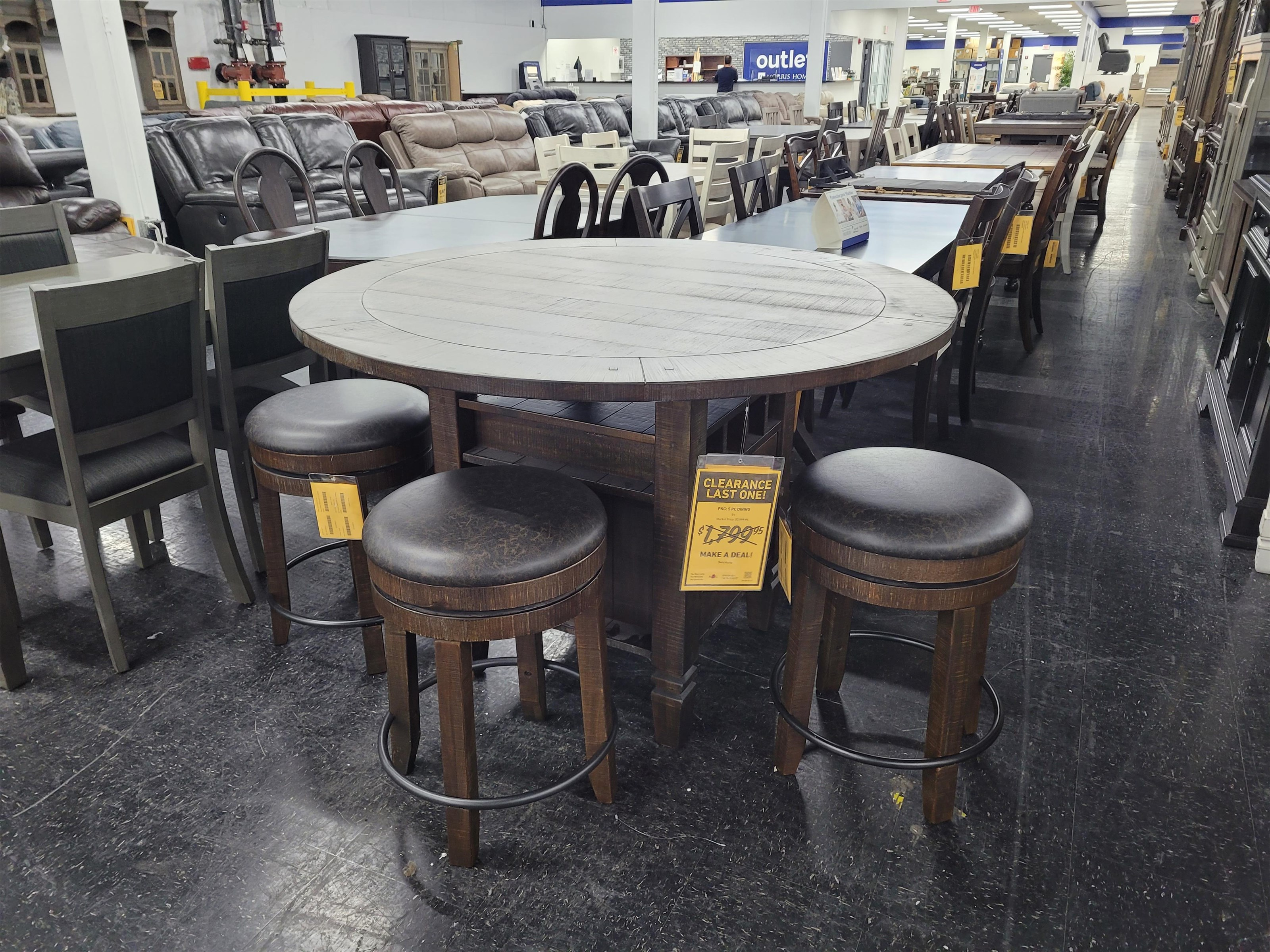Last One Dining Set Last One Dining Set! at Morris Home