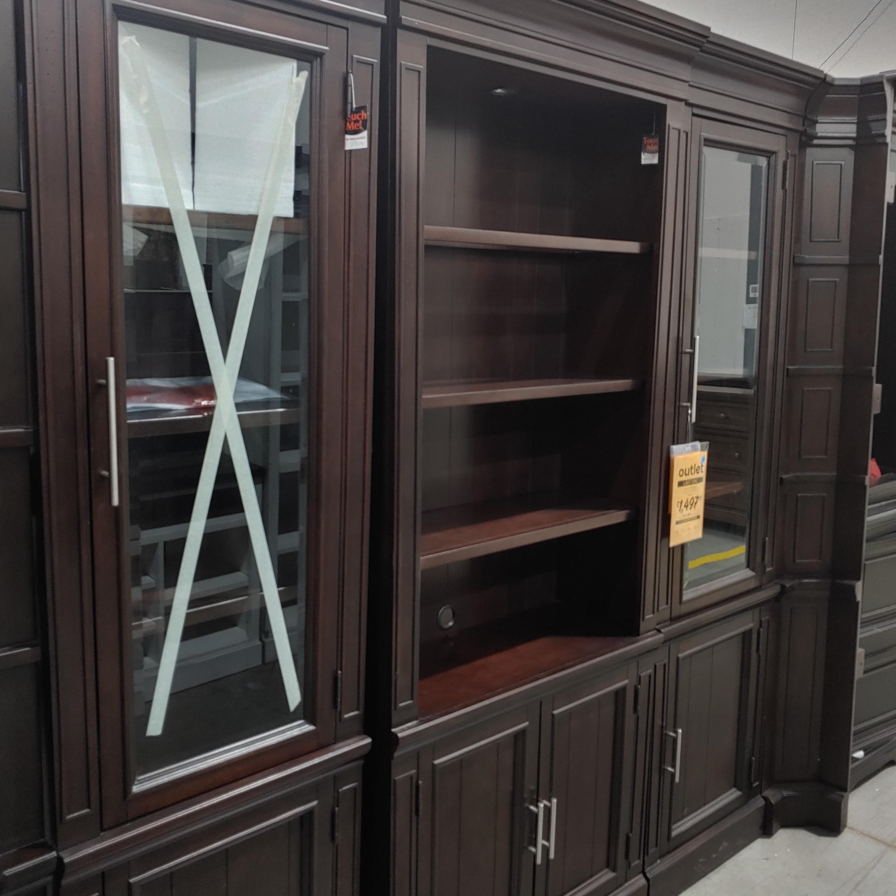 Last One Entertainment Centers Last One! Wall Unit at Morris Home