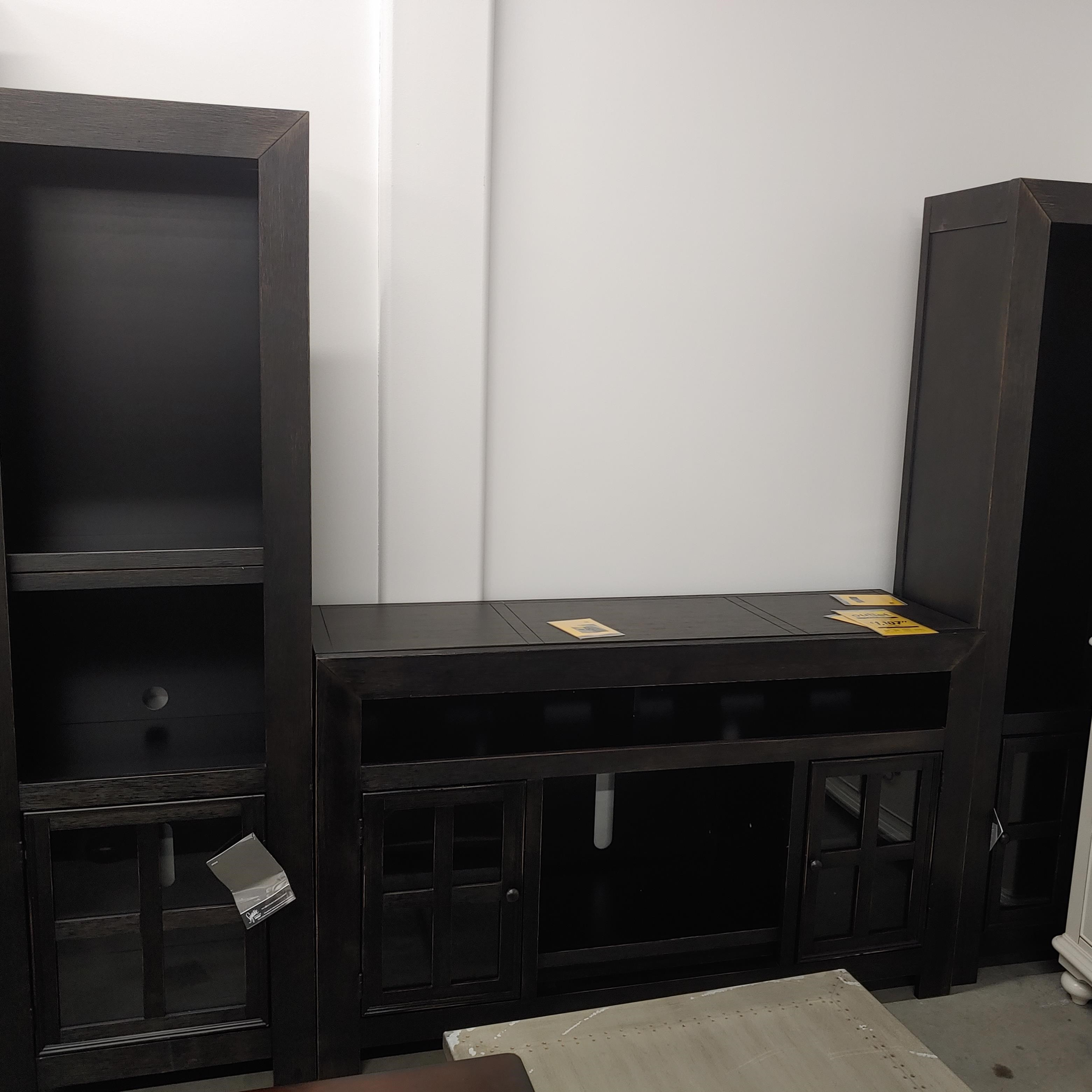 Last One Entertainment Centers Last One! Wall Unit! at Morris Home