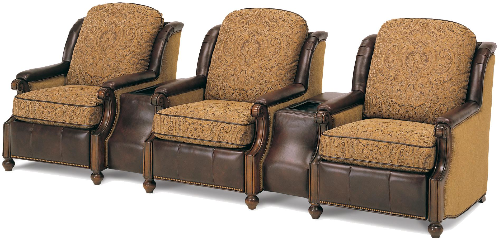 Home Theater Seating 207 Series Home Theater Seating by MotionCraft by Sherrill at Alison Craig Home Furnishings