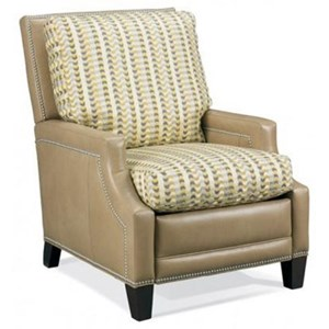 Push Back Recliner with Nailheads