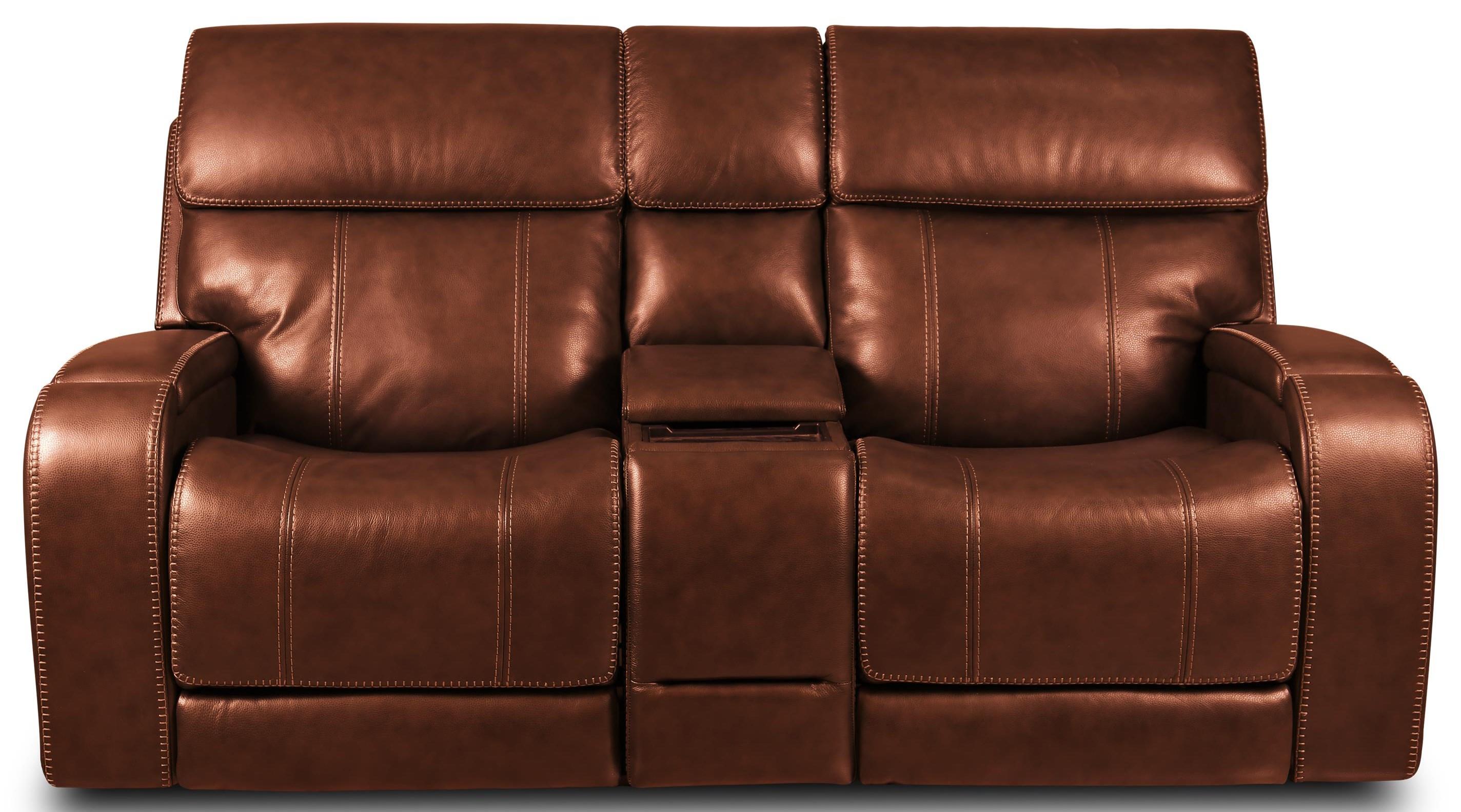 462 Sofa Triple Power Leather Reclining Loveseat by Moto Motion at Furniture Fair - North Carolina