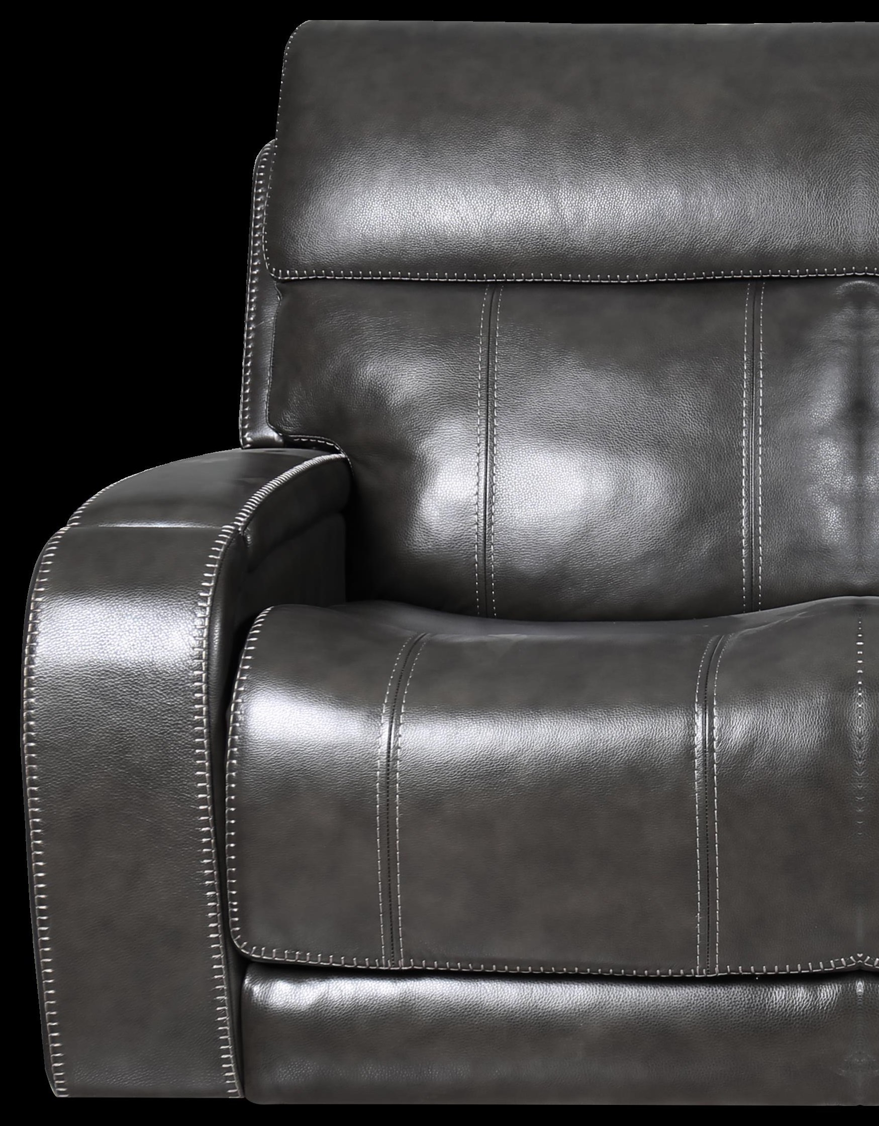 462 Leather Sectional Triple Power Leather Recliner by Moto Motion at Furniture Fair - North Carolina