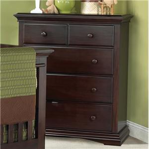 Muniré Furniture Lexington Four Drawer Chest