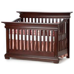 Muniré Furniture Majestic Flat-Top Lifetime Crib