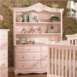Muniré Furniture Savannah Dresser with Hutch