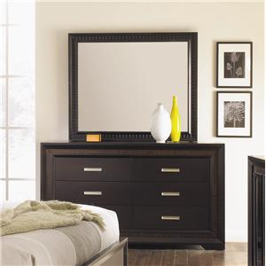 Najarian Brentwood Dresser and Mirror Combination
