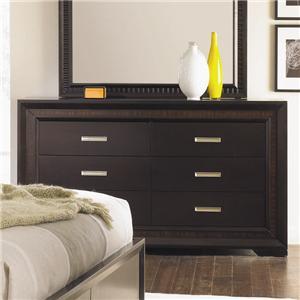 Najarian Brentwood Six Drawer Dresser