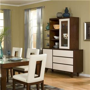 Two-Tone China Cabinet