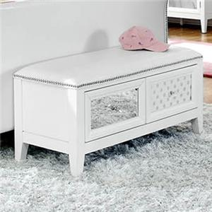 Najarian Impressions Youth Bedside Bench