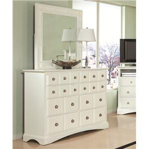 Najarian Palazzo Dresser & Mirror Set