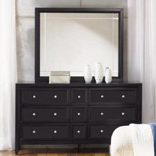 Najarian Reflections Dresser and Mirror Set
