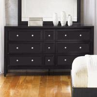 Nine-Drawer Dresser with Reversible Panels