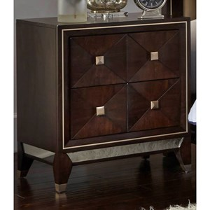 2-Drawer Nightstand with Dovetail Joinery