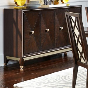 Transitional Four Door Dining Server
