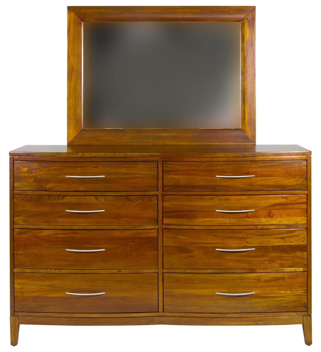 Boston Brownstone Mirror by Napa Furniture Designs at HomeWorld Furniture