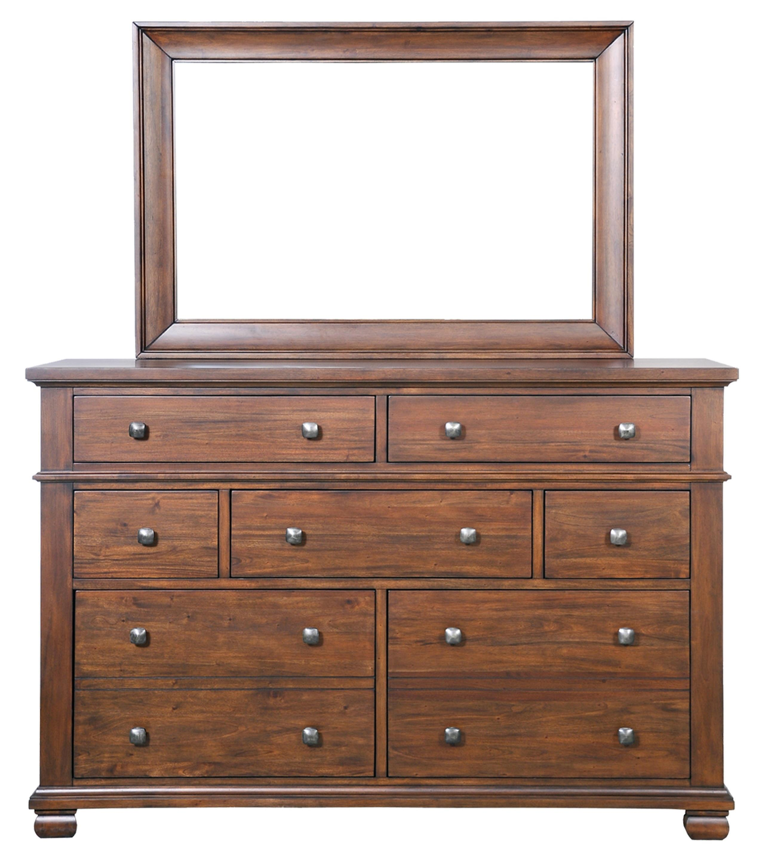 Coronado Dresser & Mirror by Harris Furniture at Powell's Furniture and Mattress
