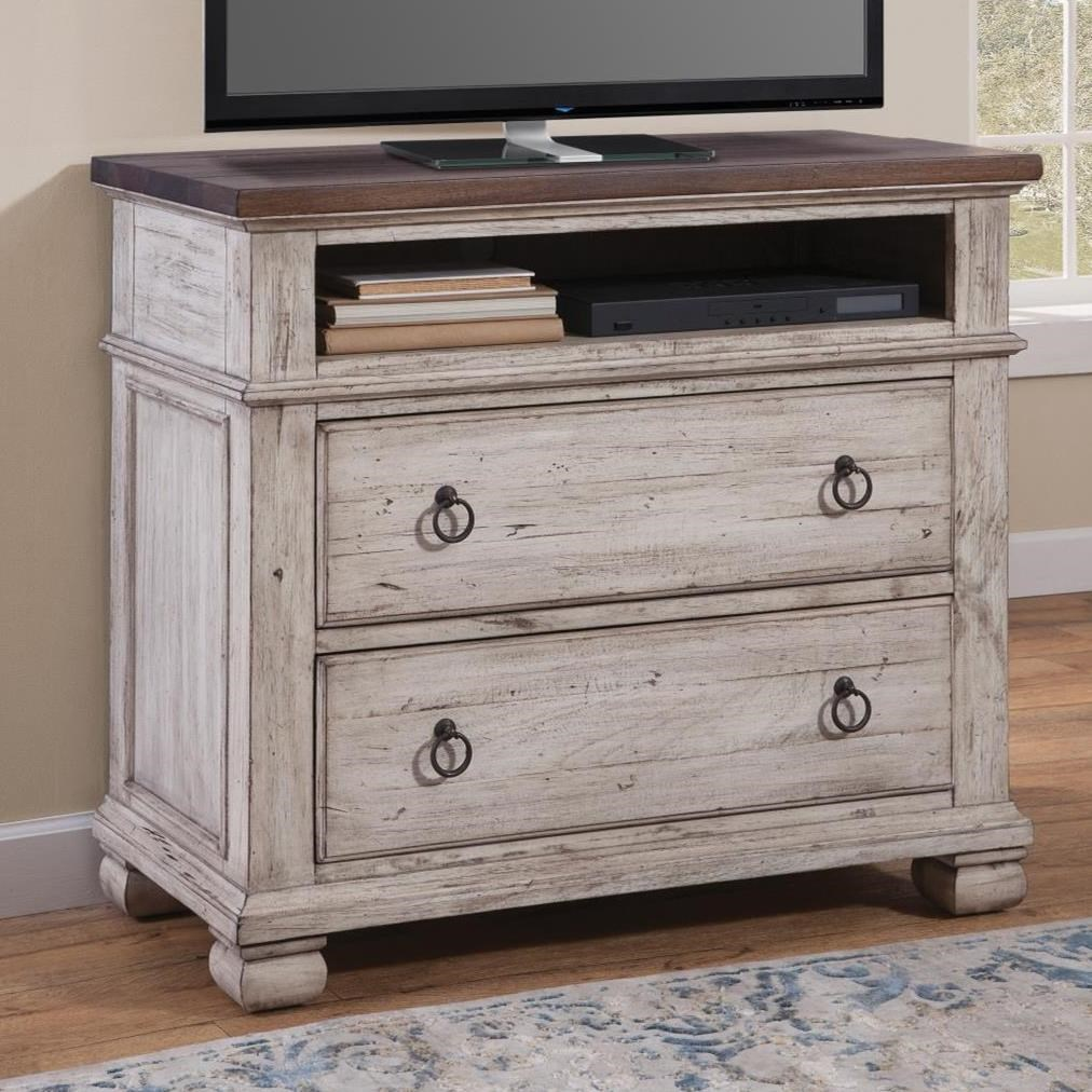 Belmont Media Chest by Napa Furniture Designs at Johnny Janosik