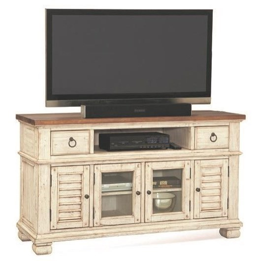 "Belmont Entertainment Center 56"" by Napa Furniture Designs at Johnny Janosik"