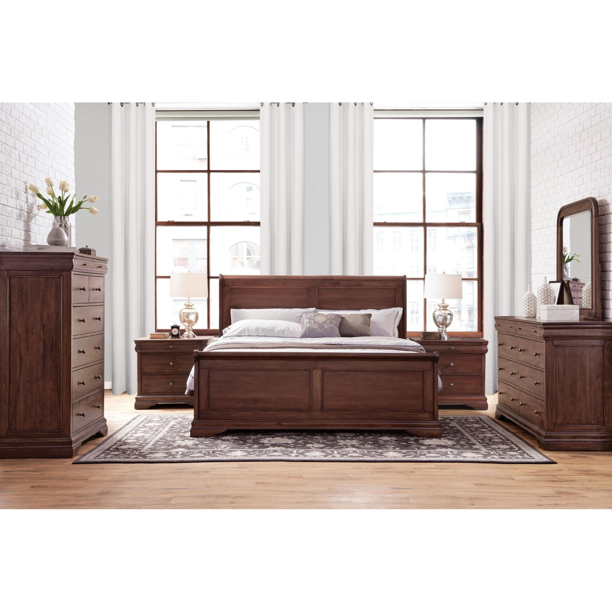 Montpelier California King Bedroom Group by Virginia Furniture Market Solid Wood at Virginia Furniture Market