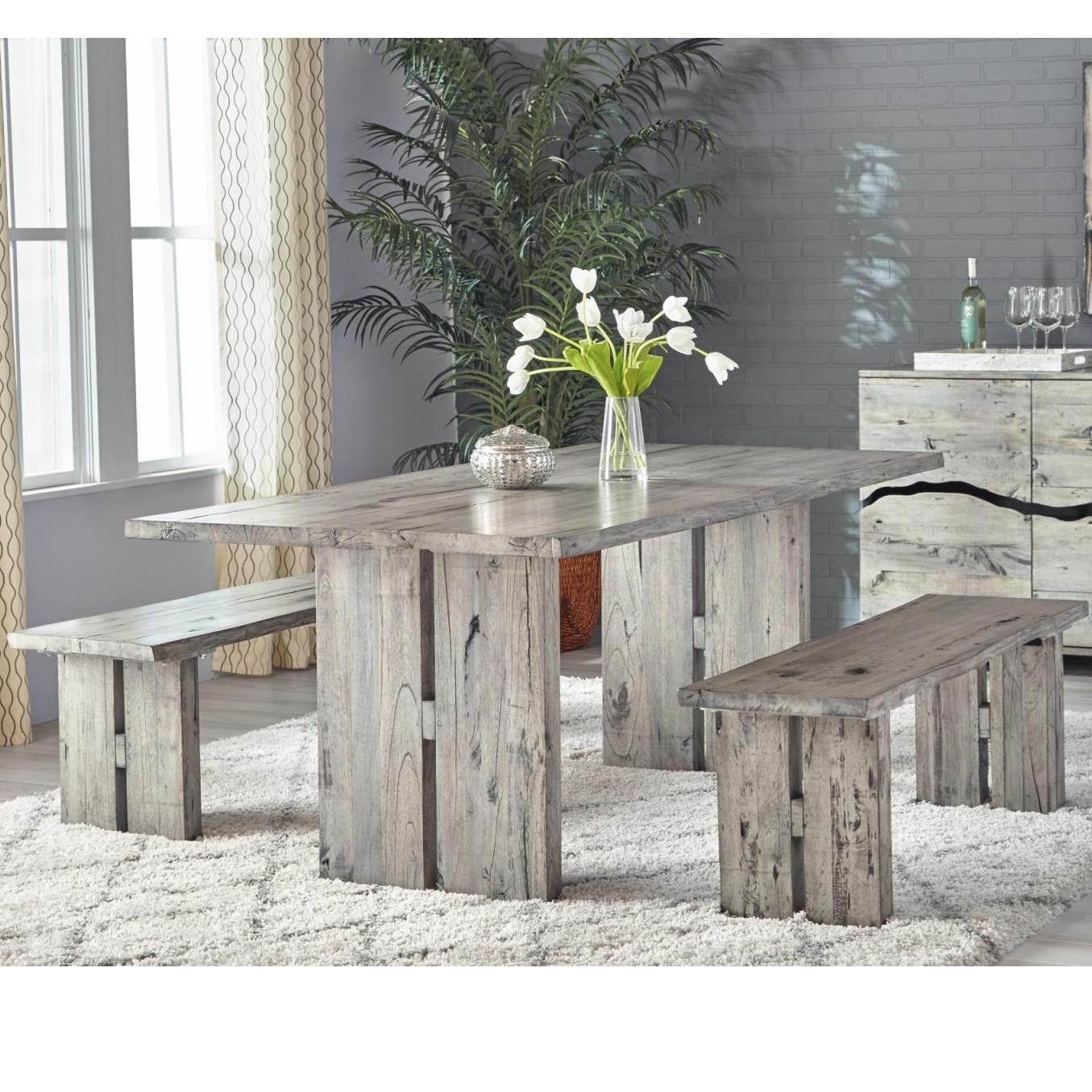 Renewal by Napa Dining Table and Bench Set by Napa Furniture Designs at Johnny Janosik
