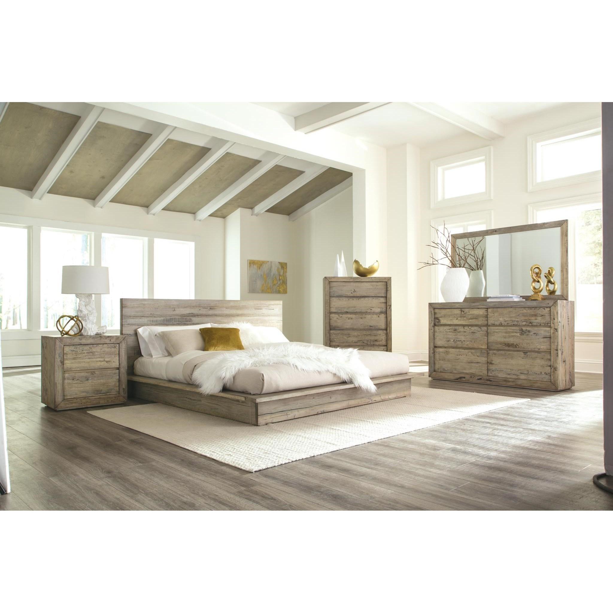 Renewal California King Bedroom Group by Napa Furniture Designs at HomeWorld Furniture