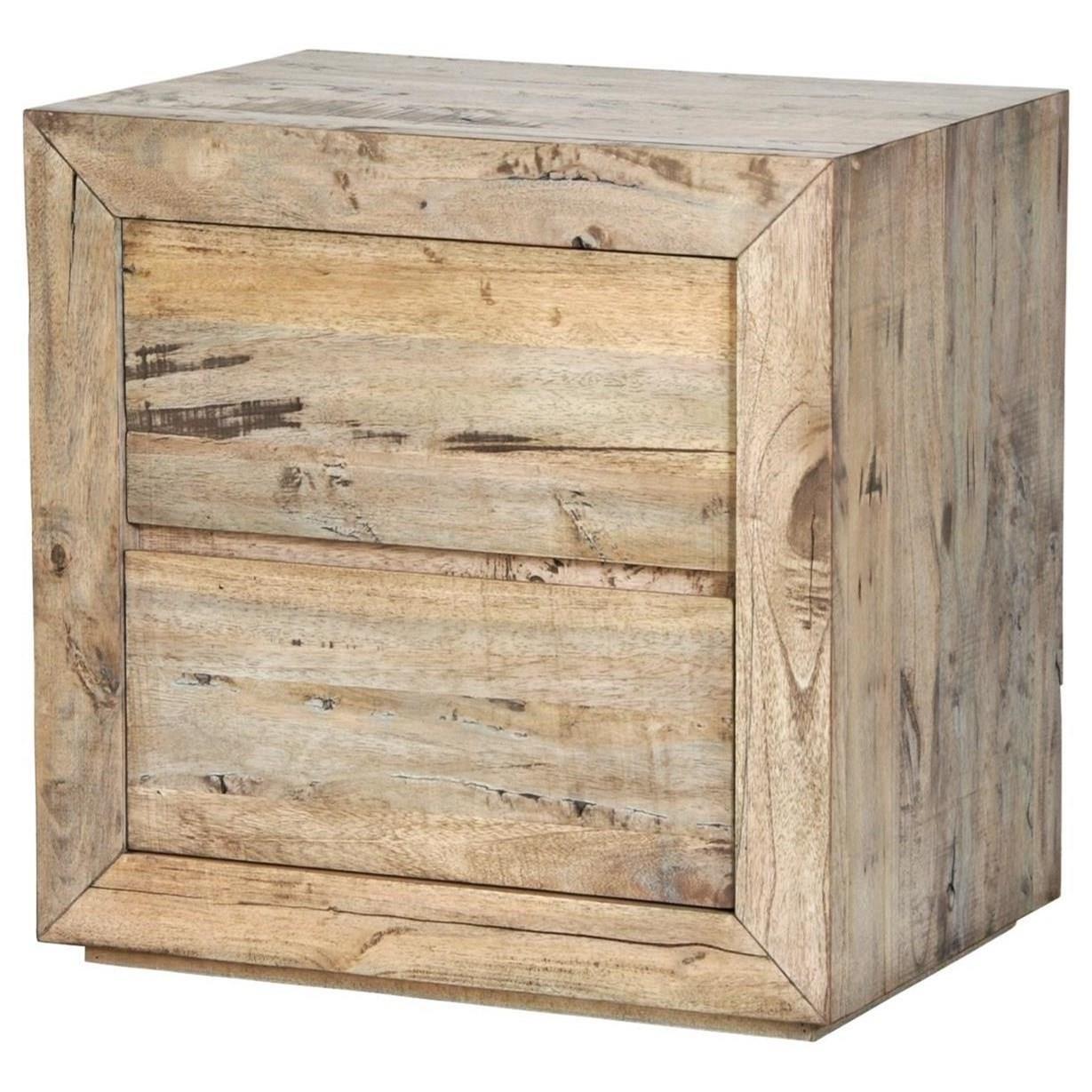 Renewal 2 Drawer Nightstand by Napa Furniture Designs at HomeWorld Furniture