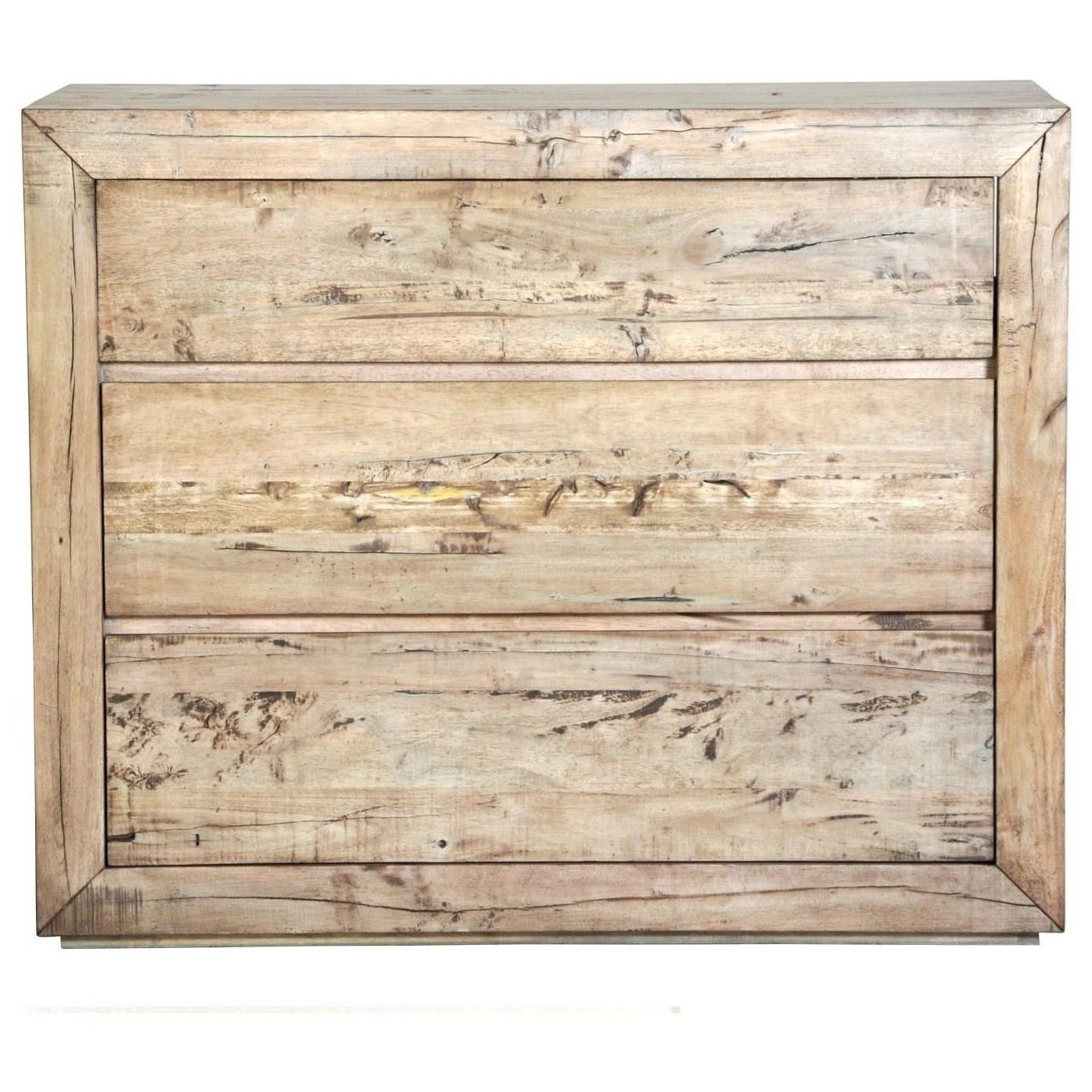 Renewal 3 x Drawer Media Chest by Napa Furniture Designs at Johnny Janosik