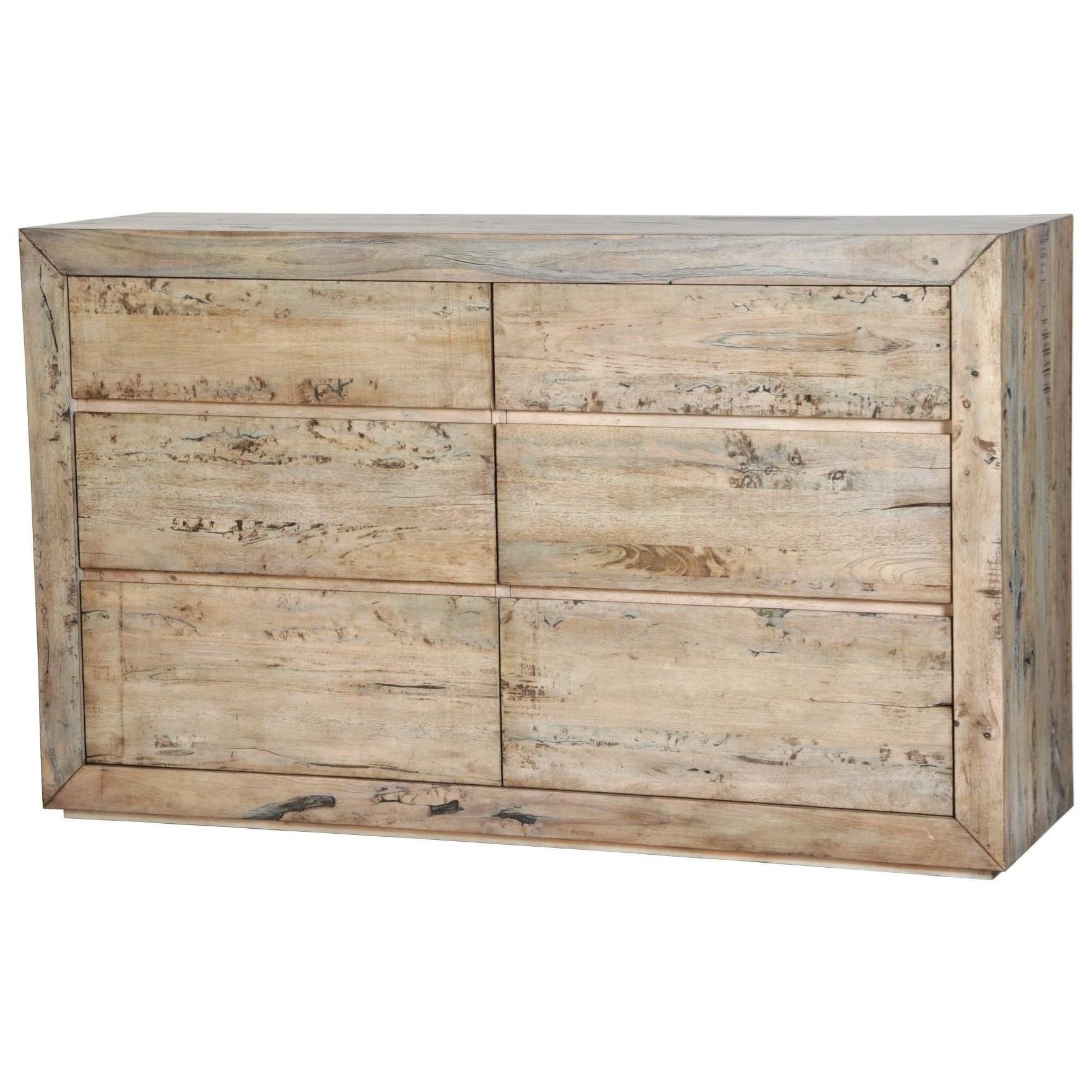 Renewal 6-Drawer Dresser by Napa Furniture Designs at HomeWorld Furniture