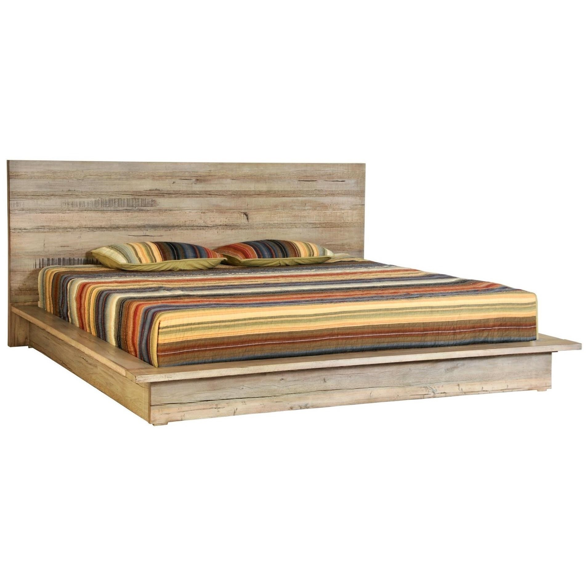 Renewal Queen Low Profile Bed by Napa Furniture Designs at Johnny Janosik
