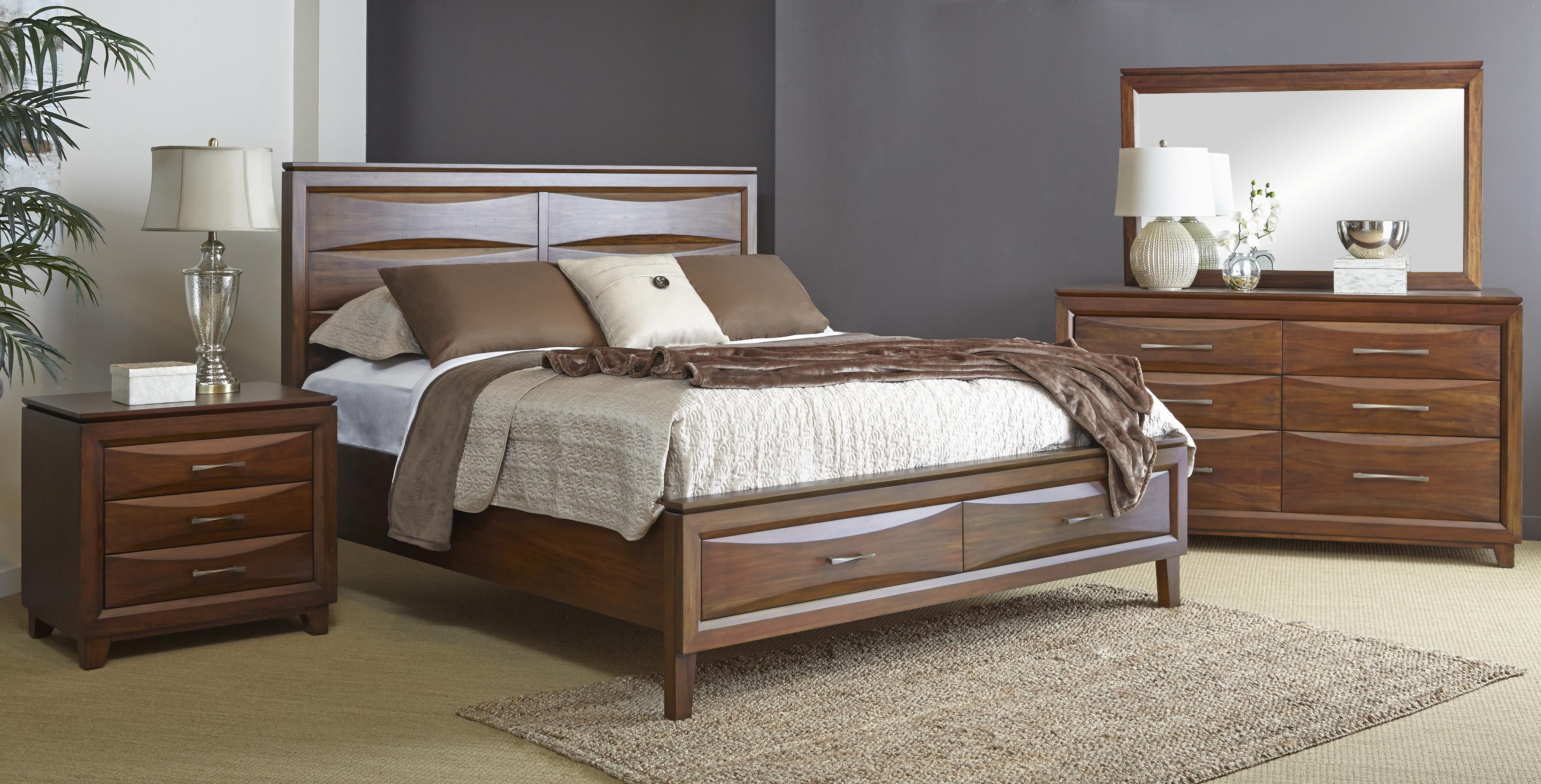 Riviera King Bedroom Group by Napa Furniture Designs at Fashion Furniture
