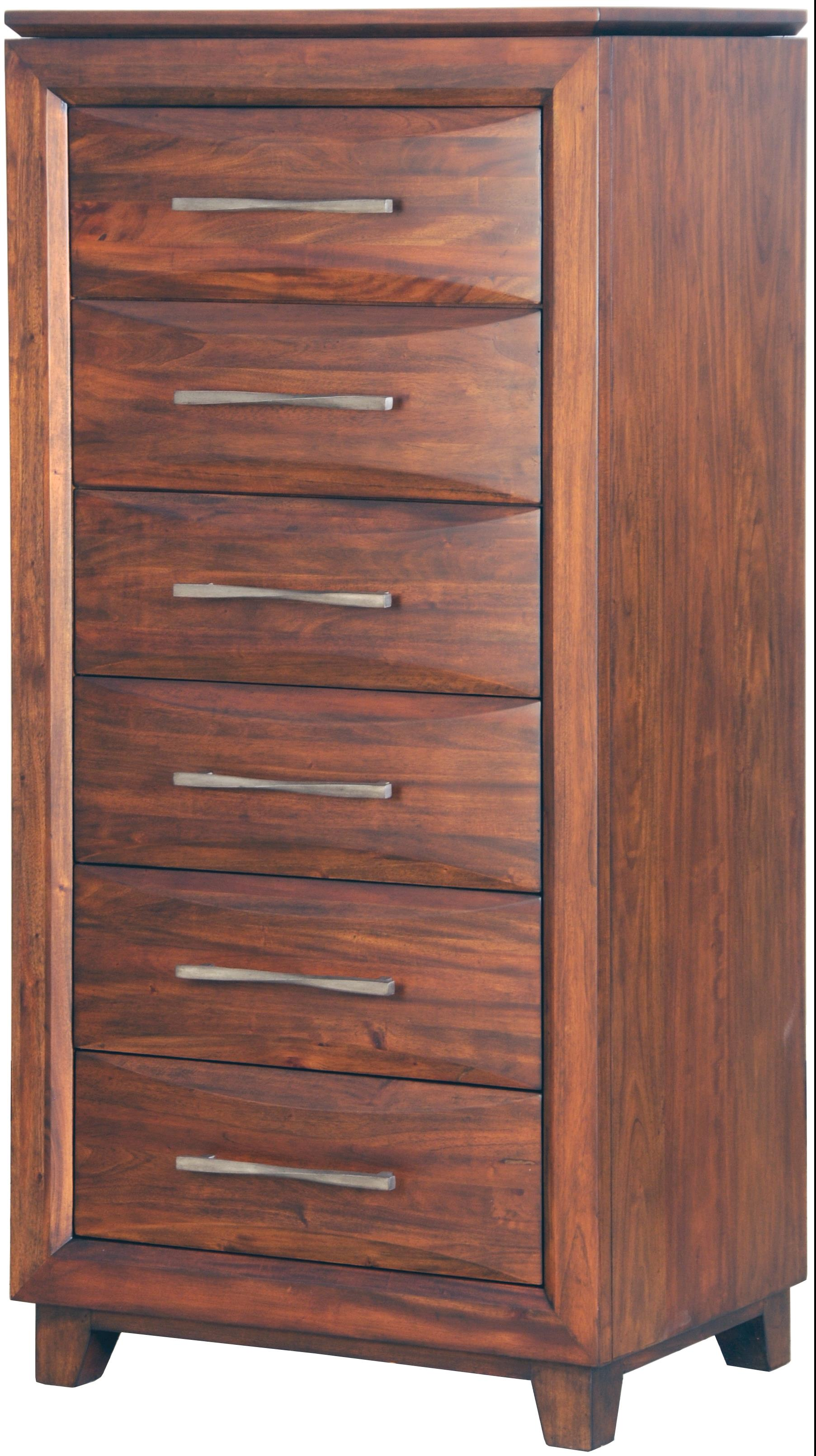 Riviera 6 x Drawer Lingerie Chest by Harris Furniture at Powell's Furniture and Mattress