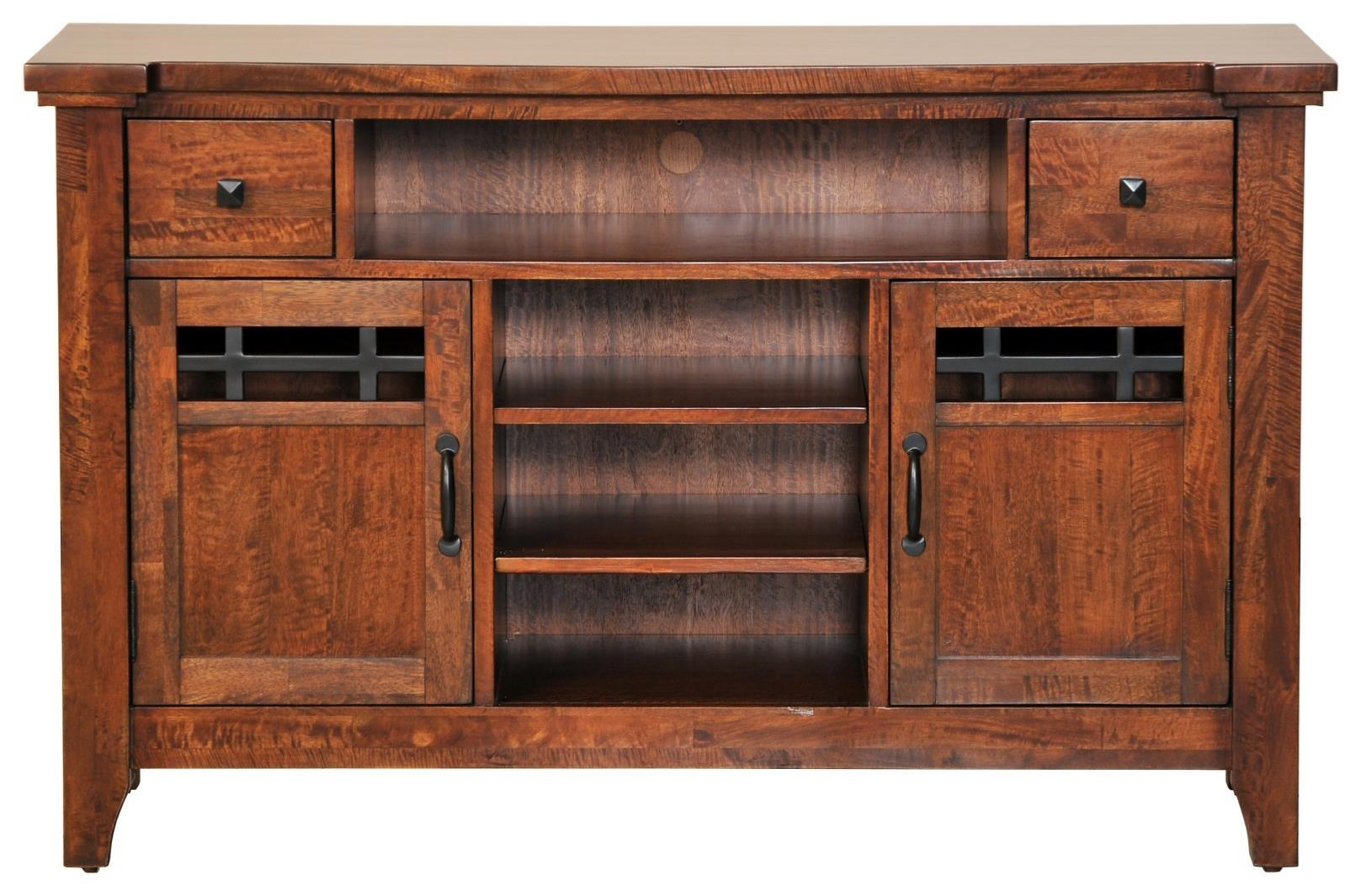 """Whistler Retreat 54"""" Entertainment Console by Napa Furniture Designs at Johnny Janosik"""