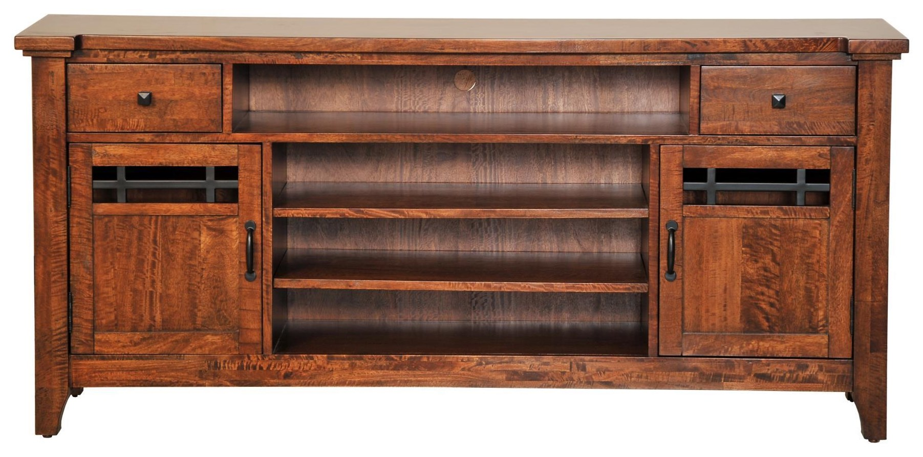 """Whistler Retreat 74"""" Entertainment Console by Napa Furniture Designs at Johnny Janosik"""