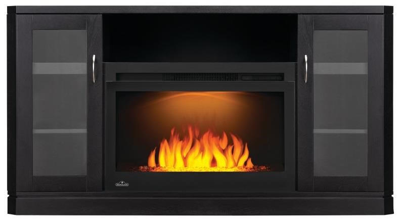 Crawford Fireplace Entertainment Centre at Bennett's Furniture and Mattresses