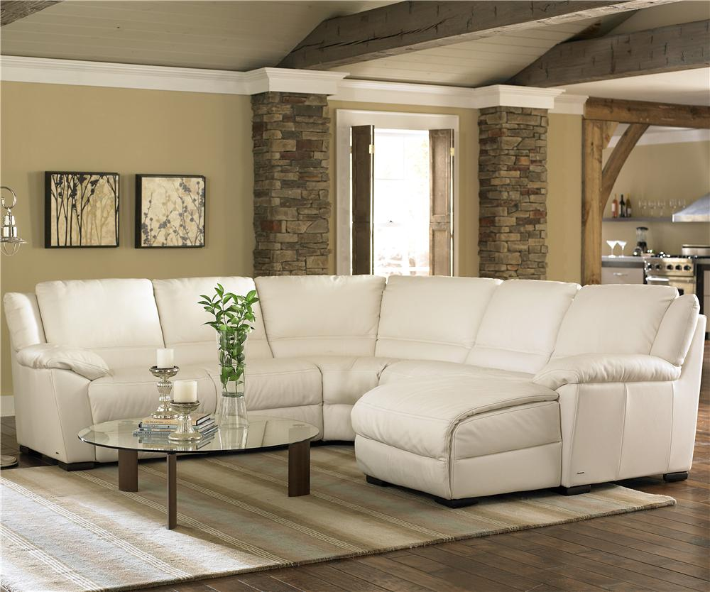 A319 Sectional by Natuzzi Editions at Sadler's Home Furnishings