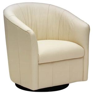 Contemporary Barrel Swivel Chair