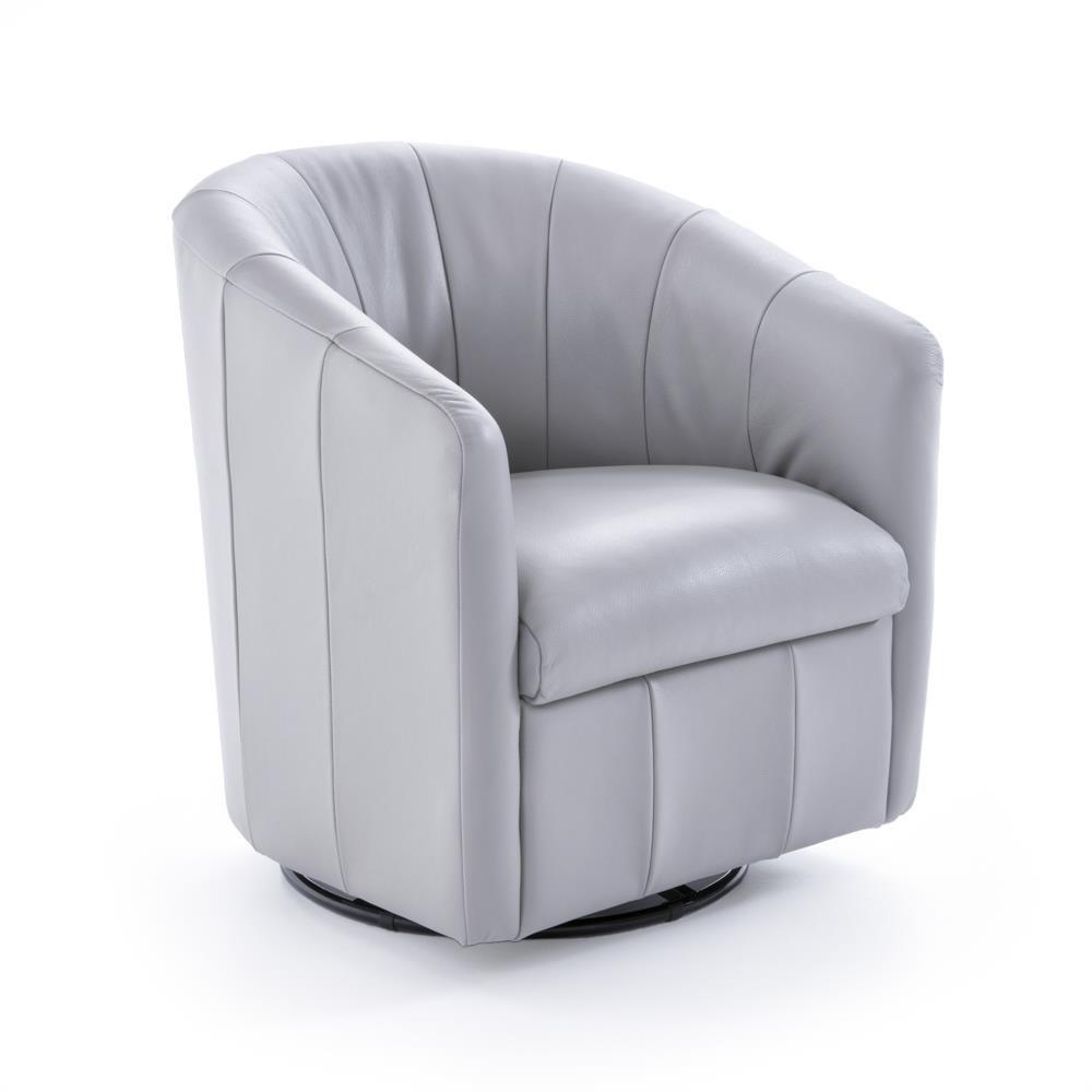Contemporary Barrel Swivel Chair