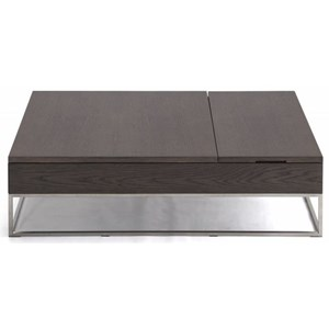 Rectangular Central Table with Lift Top