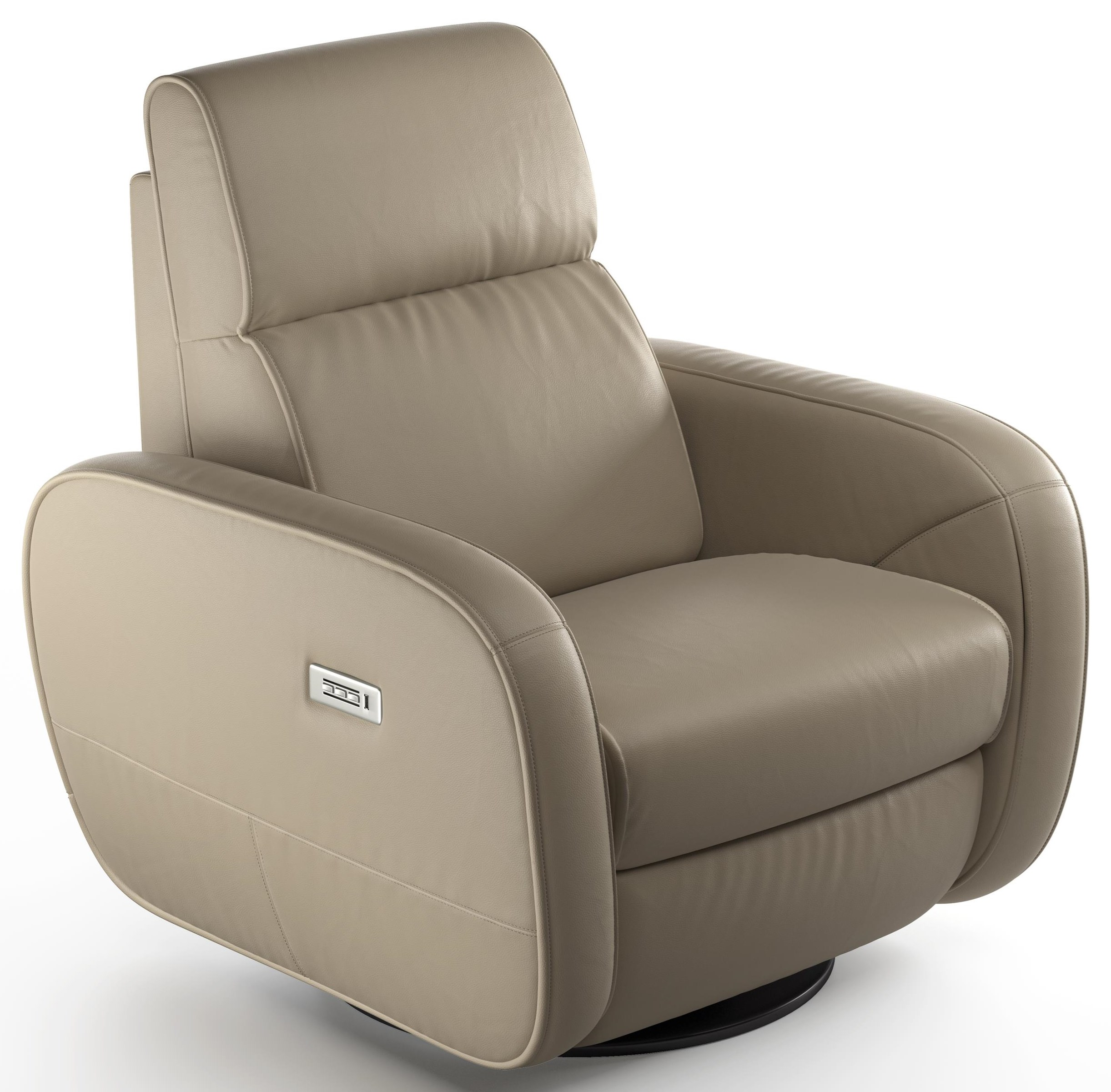 Altruista Triple Power Recliner by Natuzzi Editions at Baer's Furniture