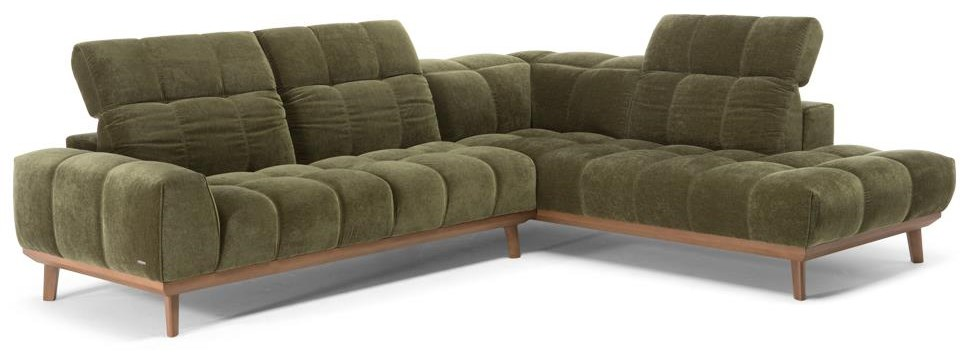 Autentico Sectional by Natuzzi Editions at HomeWorld Furniture