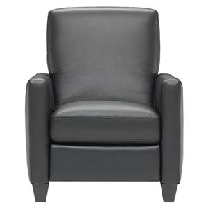Natuzzi Editions B591 Contemporary Leather Chair With