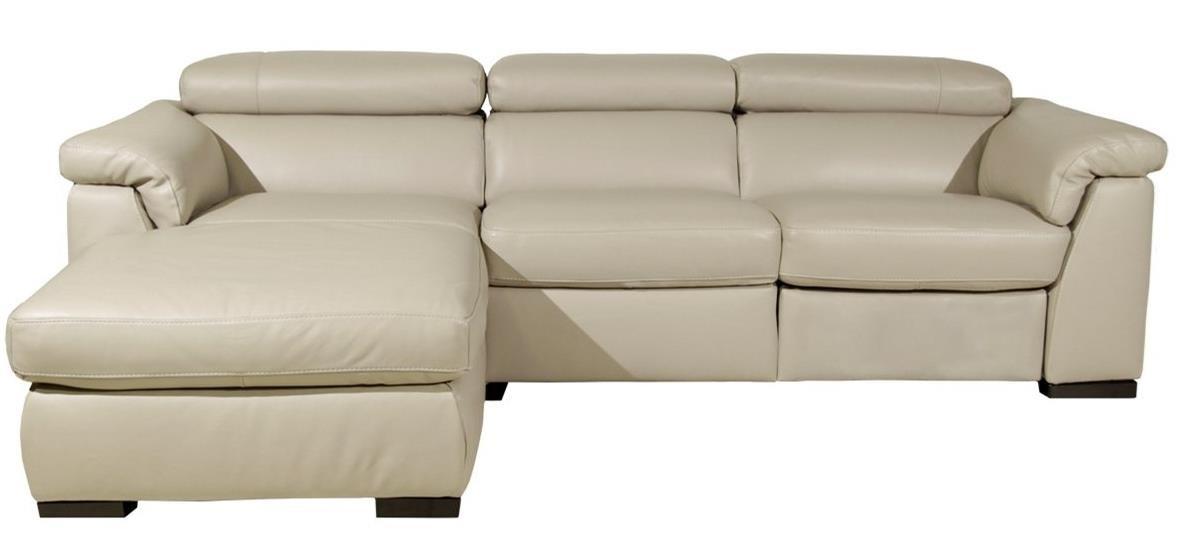 Tommaso Chaise Sofa by Natuzzi Editions at Williams & Kay