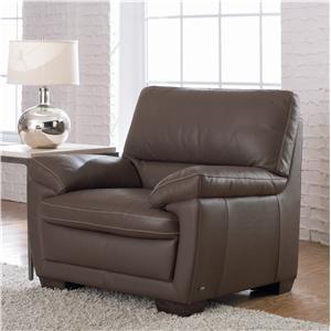 Natuzzi Editions B674 Leather Chair