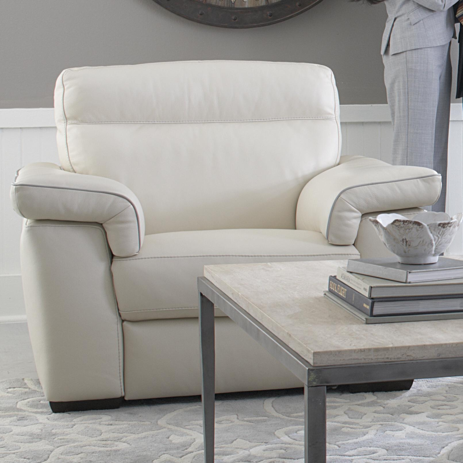 B757 Chair and a half by Natuzzi Editions at Williams & Kay